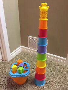 Tower and Shapes activity