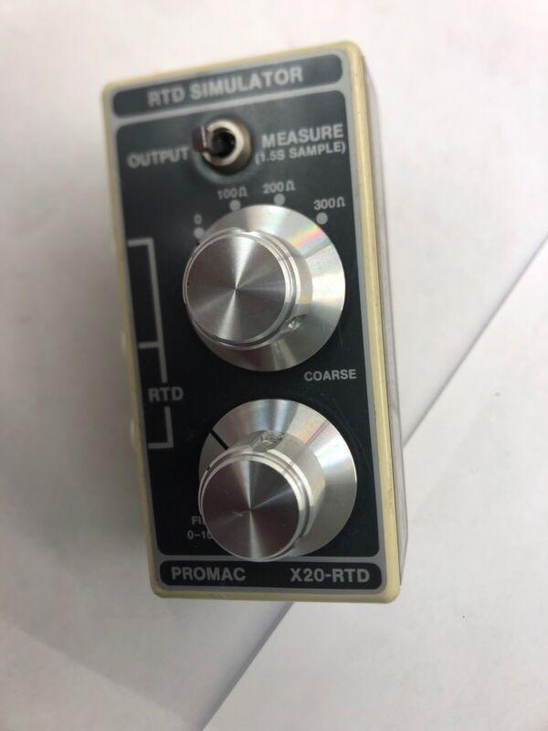 X20-RTD Promac RTD Simulator HATHAWAY X20rtd