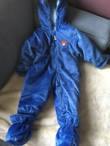 Toddler snowsuit 18m