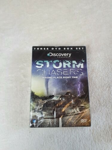 Discovery+channel+Storm+Chasers+Wrong+place+Right+time+3+dvd+set+all+regions+