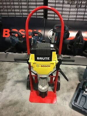 Bosch Brute Breaker Hammer Demolition Concrete Jack Hammer Basic Demolition Kit