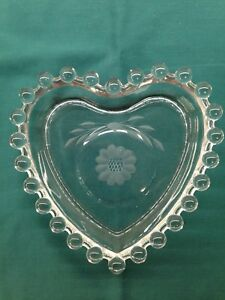 Corn Flower Heart Candy dish