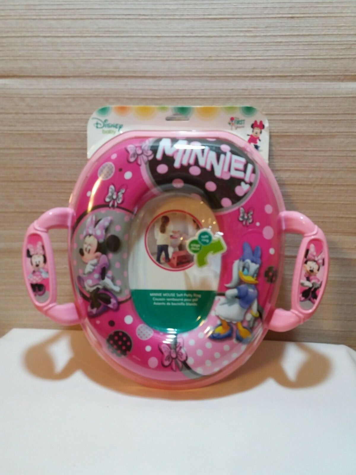 The First Years Disney Soft Potty Seat Soft Cushion Comfort