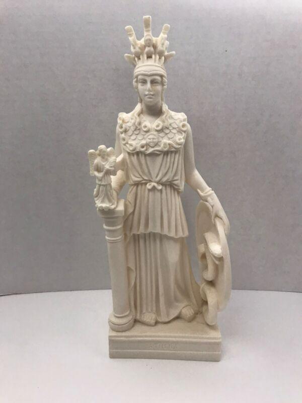 Athena Minerva Greek Roman Statue Sculpture 10 3/4