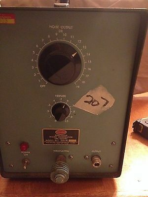 Vintage Polarad Precision Noise Generator Model N-1 - 1kc-500mc - Powers Up