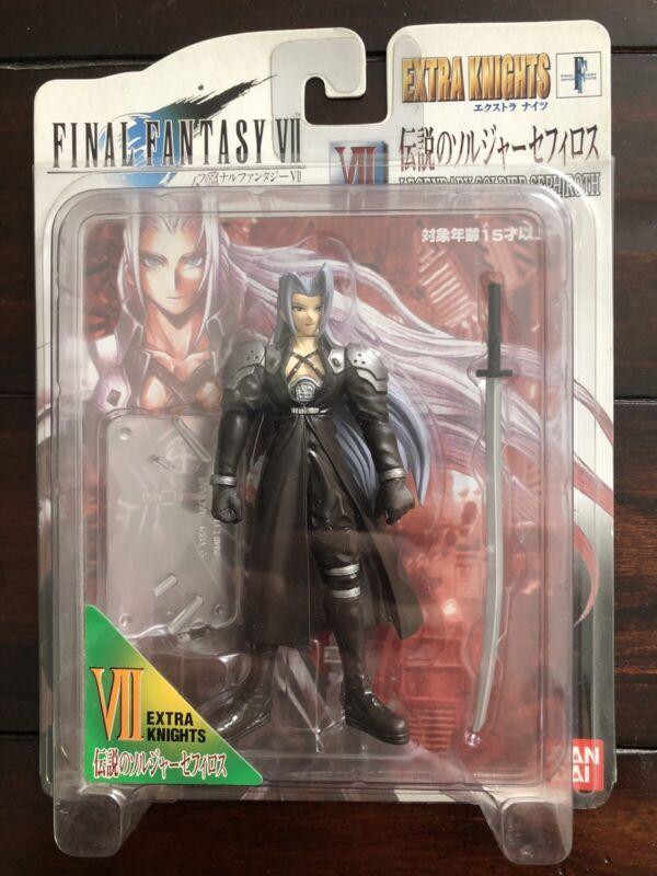 Final Fantasy VII Extra Knights Sephiroth Action Figure New Bandai 1998 FF7 MIP