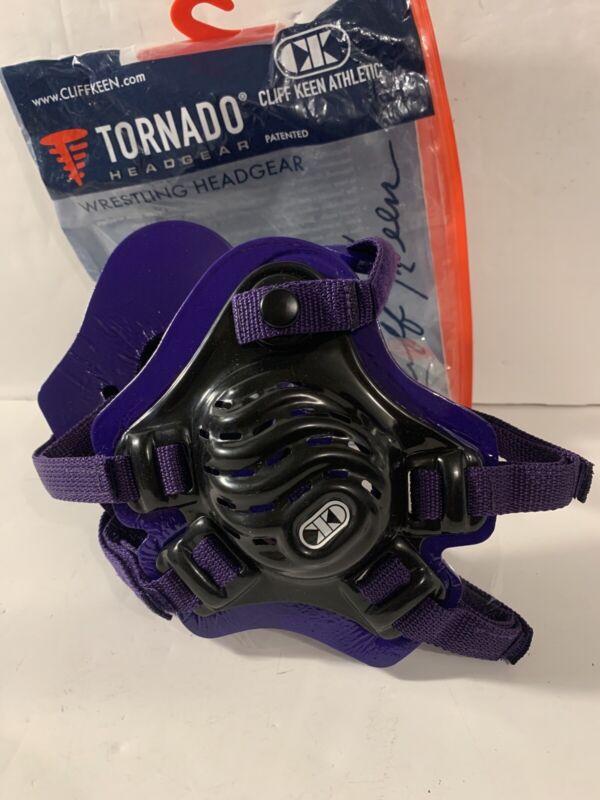 Cliff Keen Tornado Headgear Black/Purple/Purple (F5)