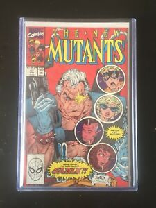 New mutants 87 - first appearance of cable!!!