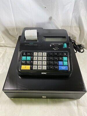 Royal 140dx Cash Register Cash Drawer Receipt Printer Tested Works Great