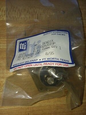 1x Bendix Amp Ms3102a20-19p Mil-dtl-5015 3 Pin 2a Threaded Shell Connector