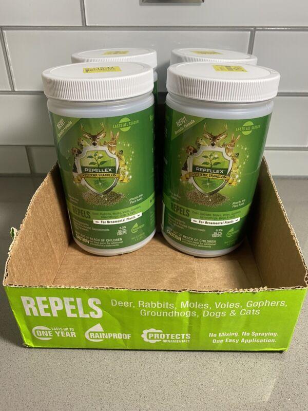 Repellex Systemic Granular Repellent 4 Pack 6 lbs. Total (Repels Wildlife)