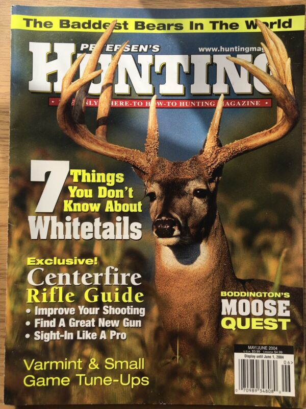 Petersens Hunting May 2004, Varmint And Small Game Hunting Tune Up