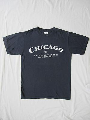 Chicago - Windy City, USA, T-Shirt Gr. S - dunkelblau, NEU ()