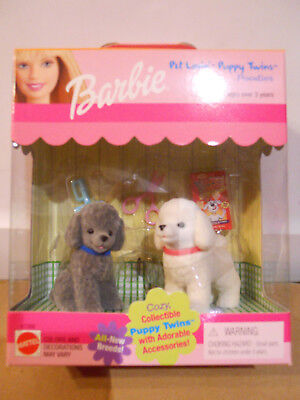Barbie PET LOVIN' PUPPY TWINS POODLES 1999