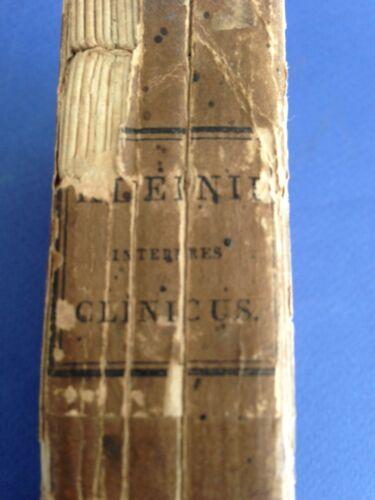 1809 MEDICINE medical LATIN book INTERPRES CLINICUS: Sive de Morborum Indole ..