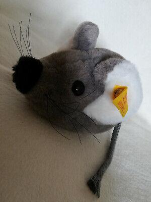 Steiff 093333 süße graue Maus, 16cm, aus Webpelz, - Graue Maus Ohren
