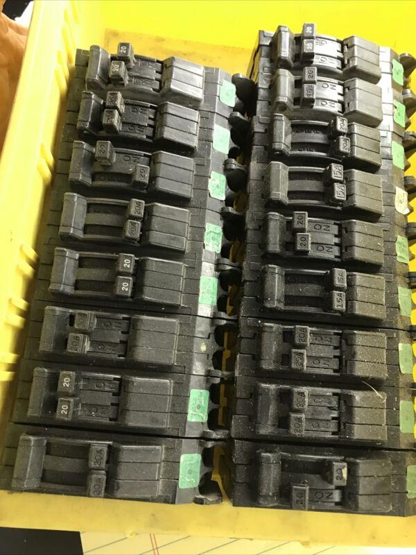 GE, General Electric Circuit Breaker, type TR twin 20/20. $28 Free Shipping