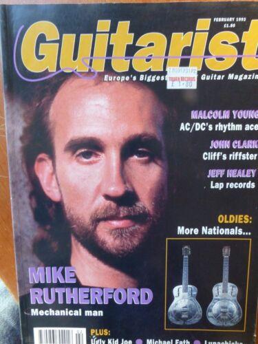 Guitarist Magazine - February, 1993