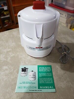 ACME SUPREME JUICERATOR MODEL 5001 WITH ORIG. BOX
