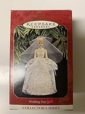 1997 Wedding Day Barbie Hallmark Keepsake Ornament Christmas Collector's Series