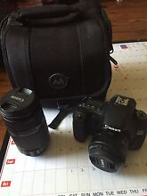 Canon 60d with two lends and a bag like new Campbelltown Campbelltown Area Preview