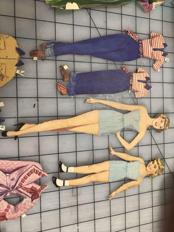 paper dolls vintage original