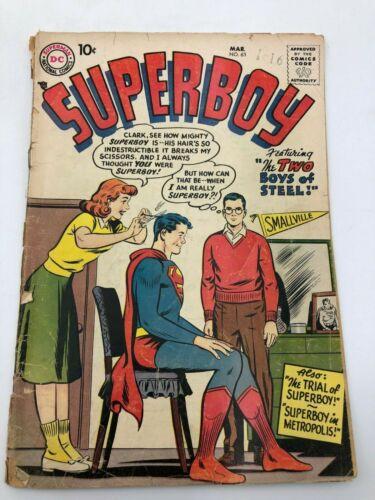 Superboy Mar 63 (1958) DC Comic Book Silver Age