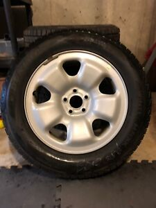 4 Dunlop WinterMaxx Tires with Jeep Rims