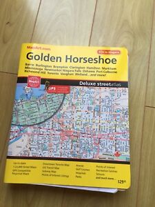Golden horseshoe map book