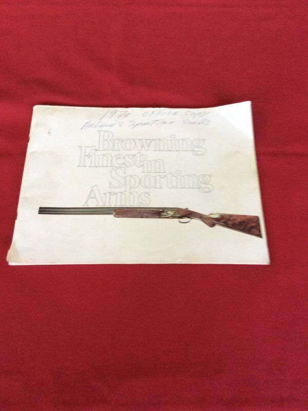 Browning 1970 Catalog Fair Condition  #1970