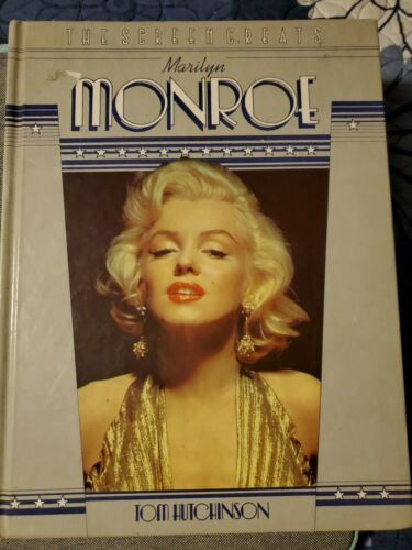 The Screen Greats Marilyn Monroe By Tom Hutchinson 1982 Book Hc Norma Jean - $2.00