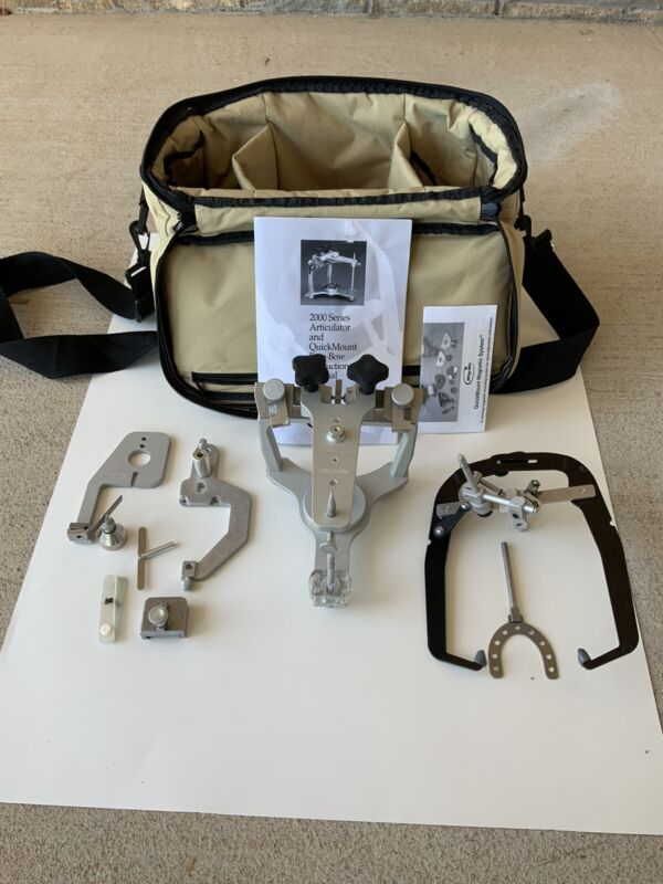 WHIPMIX DENTAL ARTICULATOR - Model 2340 MAGNETIC SEMI ADJUSTABLE WITH FACEBOW