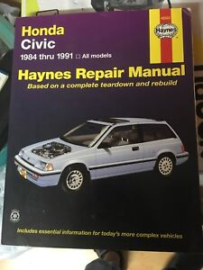 Hayes Civic 84 a 1991