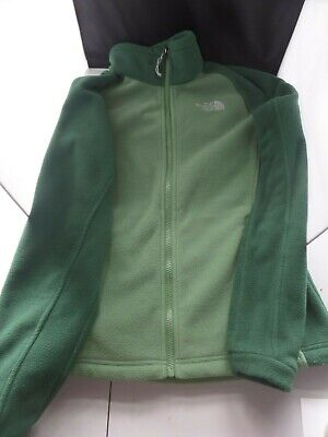 The North Face Womens Fleece Jacket Size Small Two Tone Green
