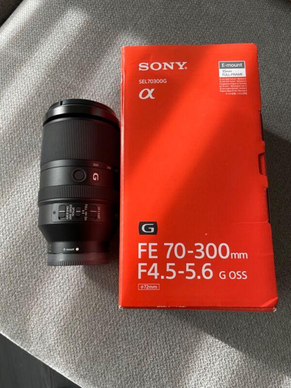 Sony SEL 70 mm - 300 mm F/4.5-5.6 FE G OSS For Sony - Black