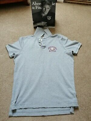 ABERCROMBIE AND FITCH, A&F POLO SHIRT, 'L' BNWOT