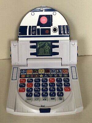 Star Wars R2-D2 Electronic Learning Handheld Laptop Learning Computer Talking