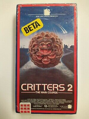 Critters 2 (1987, BETA MAX) NEW SEALED VINTAGE HORROR *not* VHS