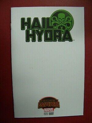 HAIL HYDRA  #1, SECRET WARS, BLANK VARIANT (9.4 NM/BETTER) (Best Secret Wars Comics)