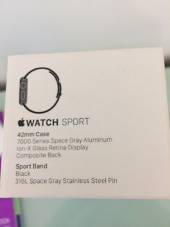 Brand new in box iwatch 42mm space grey