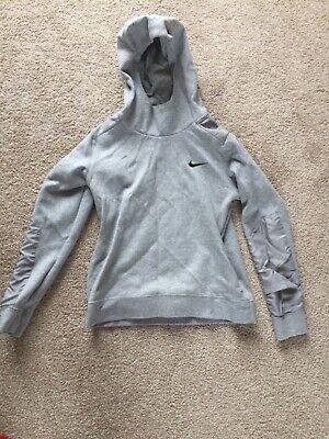 Nike grey hooded top hoody jumper