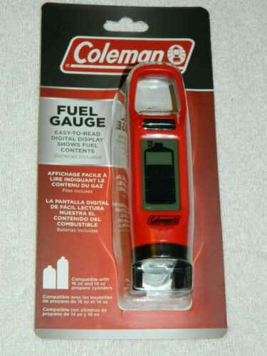 Coleman Fuel Gauge with Easy to Read Digital Display - Free Shipping - NIP