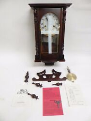 BROOKWOOD WALL CLOCK #2059 - NEW IN OPEN BOX