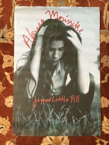 ALANIS MORISSETTE  Jagged Little Pill  rare original promotional poster