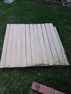 Free timber gate Toongabbie Parramatta Area Preview