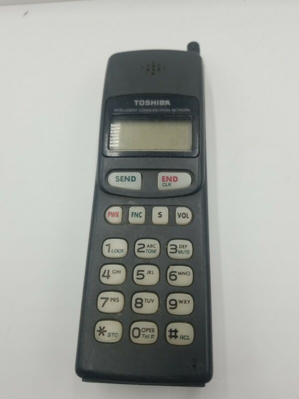 Vintage Toshiba TCP900 Handheld Portable Cellphone  Untested As Is