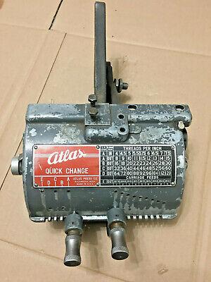 Very Nice Atlas Craftsman 10 Lathe Quick Change Gear Box Complete