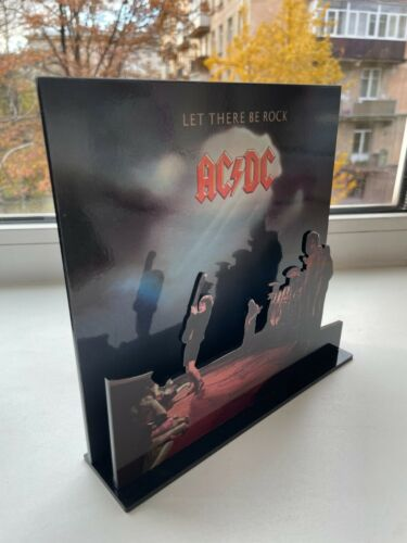 """AC/DC Let there be Rock 3D display 8"""" standee vinyl holder (figure, statue)"""