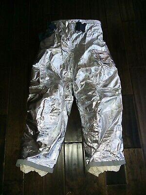 Nos Globe Gxtreme 36 Waist Firefighter Proximity Turnout Gear Aluminized Pants