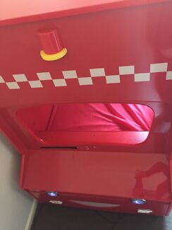 Fire engine bunk bed.
